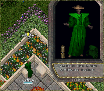 Ultima Online: Gabriel the Doom Artifacts Keeper