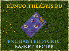 Ultima Online: Enchanted Picnic Basket Recipe