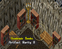 Ultima Online. Stealable Artifact: Academic Books
