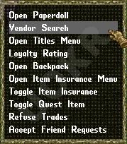 Ultima Online: Vendoe Search (Поиск по Рынку)