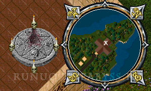 Ultima Online: Moonglow altar to Lost Lands