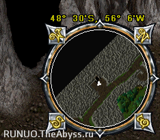 Ultima Online: Dungeon exit to point near City of the Dead