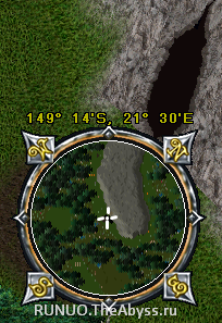 Ultima Online: Enter to Dungeon near Trinsic