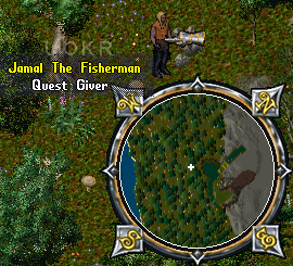 Jamal the Fisherman: Quest Bone Machete