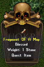 Ultima Online: Fragment of a Map