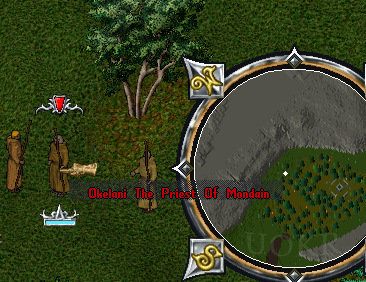 Ultima Online: Priest of Mondain