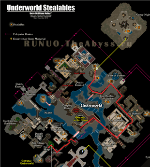Ultima Online: map to Navrey Night-Eyes