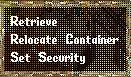 Ultima Online: House Menu Locked Item