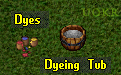 Ultima Online. Dye and Dyeing Tub