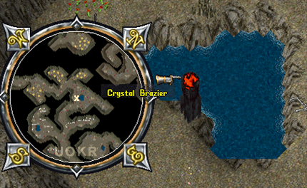 Ultima Online: Crystal Brazier в Covetous