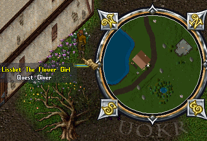 Ultima Online: Lissbet The Flower Girl