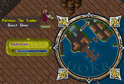 Ultima Online: Patricus the Trader