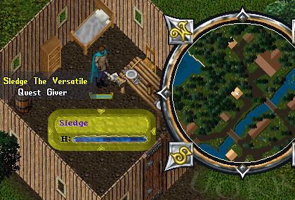 Ultima Online: Sledge the Versatile