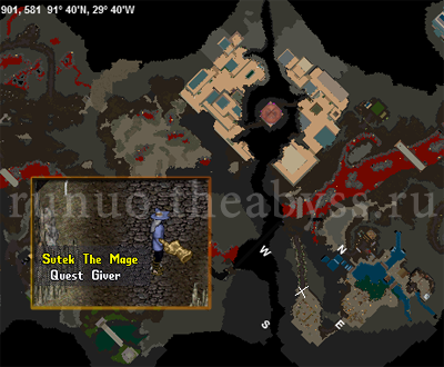 Ultima Online: Map Sutek the Mage
