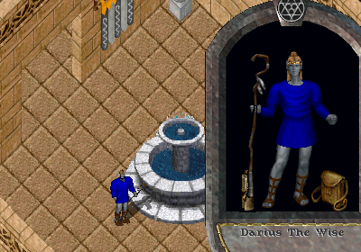 Ultima Online. Moonglow: Darius the Wise