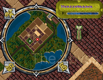 Ultima Online. Карта для Menzzobaanea The Seekers of Truth