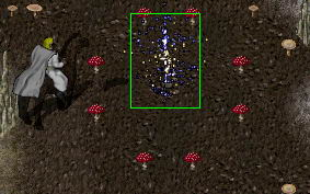 Ultima Online. Вход в подземелье TW и квестгивер. The Abyss
