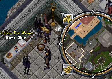 Ultima Online. Laifem the Weawer