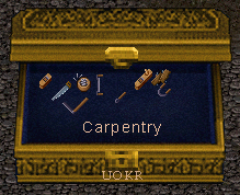 Ultima Online: Carpenter's tools